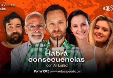 """Ari Lijalad y el equipo de """"Habrá Consecuencias"""" llega a Mystica BRK 92.5 FM de Lunes a Viernes de 07:00 a 10:00 (Repetidora el Destape Radio)"""