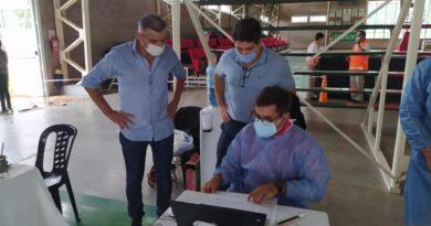 Representantes del COE Central y Regional visitaron la ciudad de Morteros.