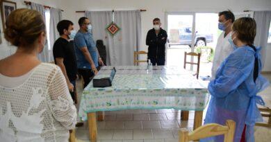 Morteros: agentes de salud de la provincia arriban a la ciudad.