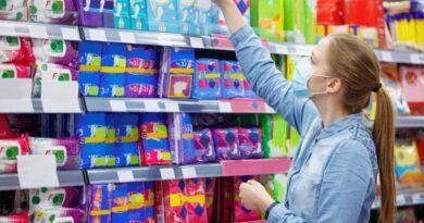 Los productos menstruales disparan la canasta cotidiana