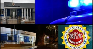 Policiales Brinkmann: Un detenido, actas por incumplimiento limite horario y uso de barbijo