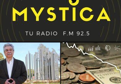 Micro de Economía en Mystica con Eduardo González Olguín (Economista-Docente UNC)