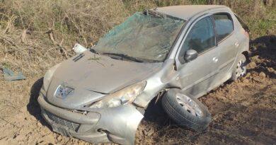 Seeber: accidente de tránsito, solo daños materiales.