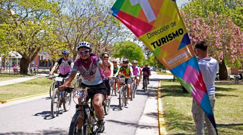 Morteros:se desarrolló con éxito la primera jornada de cicloturismo.