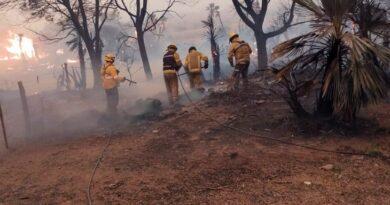 Los incendios no dan tregua y ya se cobraron una tercera víctima fatal